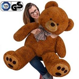 Nounours peluche ours géant XL Teddy Bear brun - 1